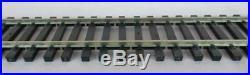 10 Pieces Of Atlas No. 6000 O-gage 2 Rail Black Tie 36 Flexible Rail Track New
