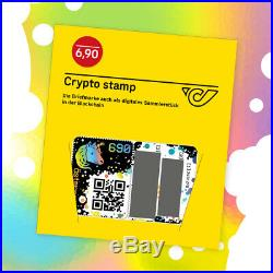 10 Stück Crypto Stamp, Black Edition Ltd. 78.5k, Ethereum Blockchain, 10 Pieces