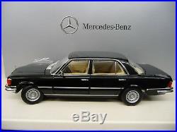 118 NOREV Mercedes 450SEL 6.9 black schwarz Limited Edition 1000 Pieces NEU NEW
