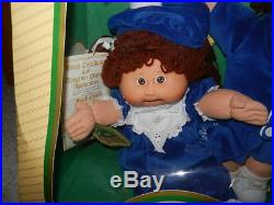 1985 LIMITED EDITION COLECO CABBAGE PATCH DOLLS TWINS With TOOTH BOY & GIRL NRFB