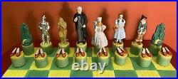1995 Star Jars WIZARD OF OZ FULL 32 Piece Chess Set & Board LTD EDITION 186/300