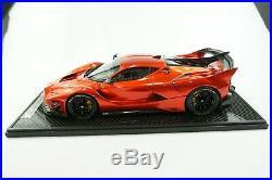 1/12 Bbr Ferrari Fxxk Evo F1 Red Metallic Gloss Limited 5 Pieces Mr