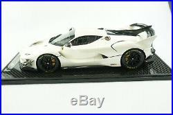 1/12 Bbr Ferrari Fxxk Evo Fuji White Gloss Limited 5 Pieces Mr
