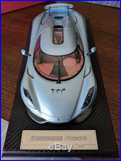1/18 AvanStyle Koenigsegg Regera blue limited #25/500 pieces
