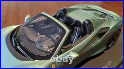 1/18 BBR Ferrari F8 Tributo Spider verde francese limited 32 pieces STUNNING