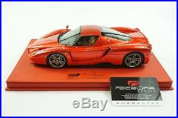 1/18 Bbr Ferrari Enzo F1 2007 Red Metallic Red Deluxe Leather Limted 10 Piece Mr