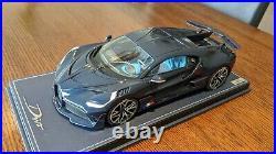 1/18 MR Bugatti Divo full blue carbon limited 99 pieces