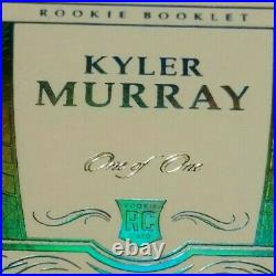 1/1 RC AUTO KYLER MURRAY NFL SHIELD 100 YEARS SEALED RPA ROOKIE 2019 Flawless