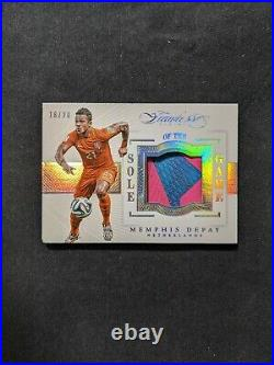 2015-16 Panini Flawless Sole of The Game #SG-MD Memphis Depay RC Rookie /20