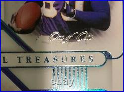 2020 National Treasures Cris Carter Randy Moss 1/1 NFL Gear Combo Dual Patch