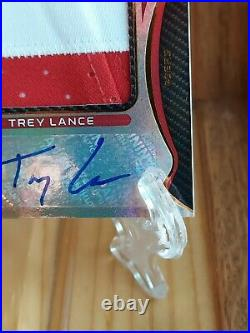 2021 Certified Football FOTL Trey Lance RC Rookie Patch Auto /149 SSP RPA 49ers