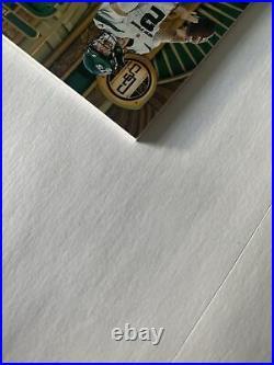 2021 Zach Wilson Rpa Rc Auto #/75 Panini Gold Standard New York Jets Byu