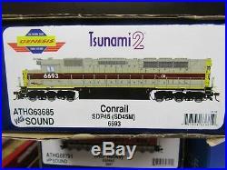 Athearn Genesis G63685 Sdp45 Erie Lackawanna /conrail Patch Rd#. 6693 DCC Sound