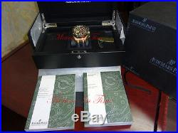 Audemars Piguet Grand Prix 18k Rose Gold Limited 650 Pieces 26290RO. OO. A001VE. 01