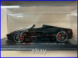 BBR Models 1/18 Ferrari LaFerrari Aperta Gloss Black 1 of 4 pieces P18135GEN20-1