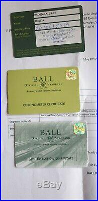 Ball roadmaster Auto, Limited edition of 1000 pieces