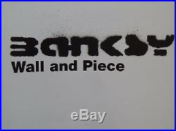 Banksy Wall and Piece 1st Edition First Printing Book with Dustwrapper RARE ITEM
