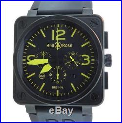 Bell & Ross BR01-94 S Aviator PVD Chrono Ltd Edition 500 Pieces with Box & Papers