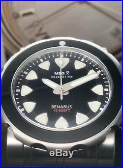 Benarus Megalodon OceanicTime X Special Edition 10000 Feet Swiss ETA 25 Pieces