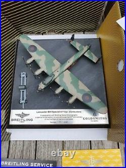 Breitling Blackbird Limited Edition /60 pieces RAF Lancaster Full set A13353