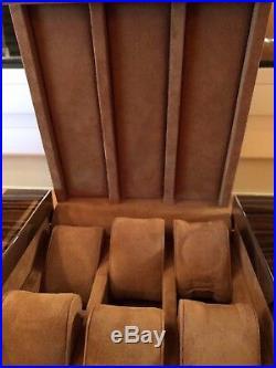 Buben & Zorweg Limited Edition Burl Wood 6-piece Watch Box