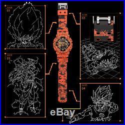 CASIO G-SHOCK Collabo One Piece & Dragon Ball Z GA-110J OP DB watch limited set