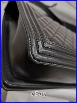 CHANEL So Black Limited Edition Caviar Boy Bag Large Collectors Piece