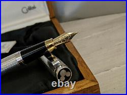 COLIBRI Mickey Mouse Limited Edition of 1928 Pieces Sterling Silver Fountain Pen