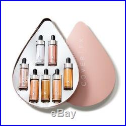COVER FX Custom Enhancer Drops Vault 7 Piece Gift Set Limited Edition NEW Boxed