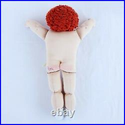 Cabbage Patch Soft Sculpture Red Hair Blue Eyes Boy PVK Paradise Valley 2011