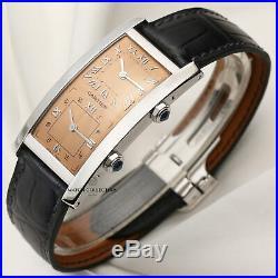 Cartier Tank Cintrée Dual Time Platinum Limited Edition 200 pieces