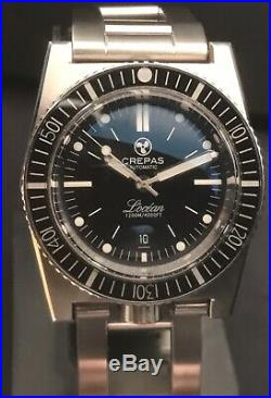 Crepas LOcean Limited Edition 1200m Diver Swiss Automatic 313 Pieces Sold Out