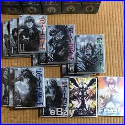 Death Note DVD First Press Limited Edition Original Figure 13 pieces set JAPAN