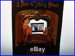 Disney Piece Of Movies Pin MULAN Limited Edition Father FA ZHOU Cherry LE 2000