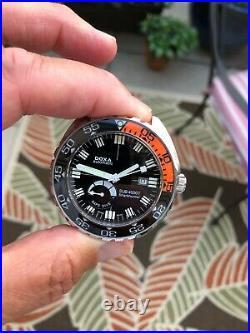 Doxa Sub 4000T Sharkhunter Sapphire Bezel 47mm Limited Edition 200 Pieces