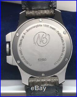 ENNEBI FONDALE 9601 Titanium 47mm Limited Edition 30 Pieces Swiss Unitas 1000m