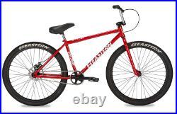 Eastern Growler 26 LTD BMX Bicycle Bike 3 Piece Crank Chromo Frame 2020 Red