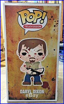 FUNKO POP DARYL DIXON BLOODY Toy Tokyo Comic Con Exclusive 9 LTD 300 PIECE RARE