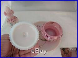 Fenton 5 Piece Rosalene Dresser/Vanity Set 5 Piece 2004 2905EB MIB