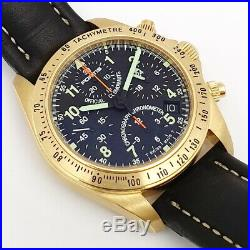 Fortis Cosmonauts 18ct Gold Chronograph GMT Limited Edition No 099/only100pieces