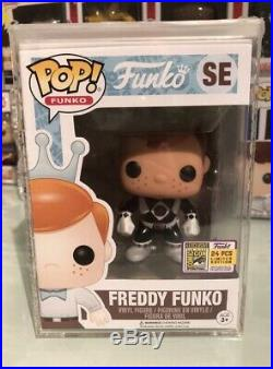 Freddy Funko Black Power Rangers Sdcc Fundays 2017 24 Pieces Limited Edition