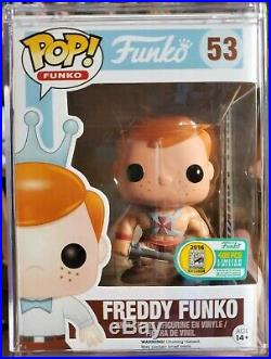 Funko Freddy He-man Pop Fundays SDCC 2016 Limited Edition 400 Pieces #53 MOTU
