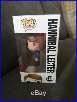 Funko POP! Vinyl Figure SDCC 2014 Bloody Hannibal Lecter #146 1500 Ltd Piece