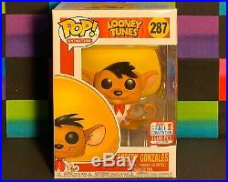 Funko Pop! Looney Tunes Speedy Gonzales 287 NYCC Limited Edition 3500 Pieces