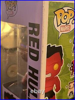 Funko Pop Metallic Red Hulk #31 SDCC 2013 Limited Edition 480 pieces