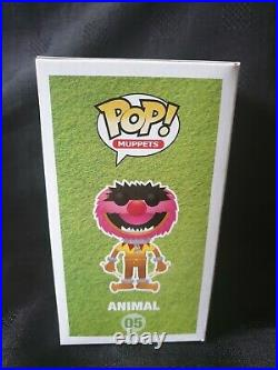 Funko Pop! Muppets! Animal #05 Metallic SDCC 2013 Ltd Ed 480 pieces. Grail Rare