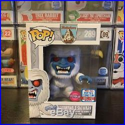 Funko Pop! NYCC 2017 Flocked Abominable Snowman Limited Edition 1000 Pieces VF+