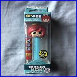 Funko Pop! Pez Girl Red Hair 600 Piece Limited Edition Candy Dispenser
