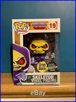 Funko Pop! Television MOTU GITD Skeletor #19 Gemini 2013 Excl 480 Piece Ltd