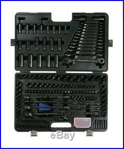Halfords Advanced 200 Piece Limited Edition Socket & Ratchet Spanner Set Black B